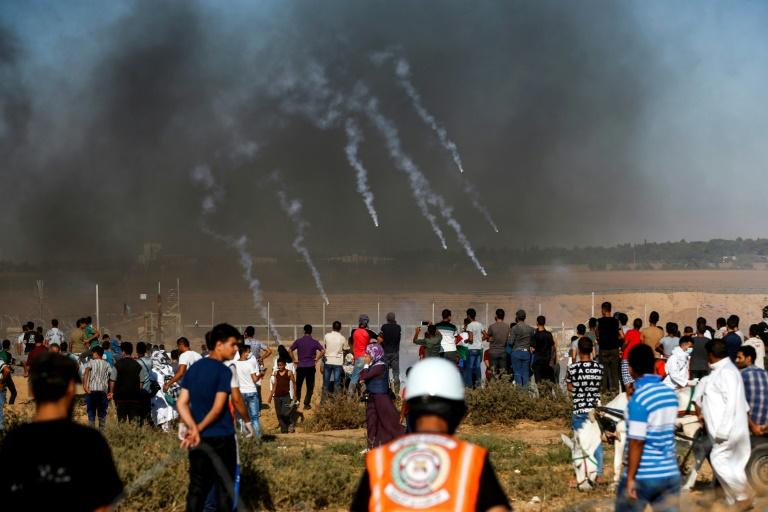 """Bombardeos israelíes en """"toda la franja de Gaza"""""""