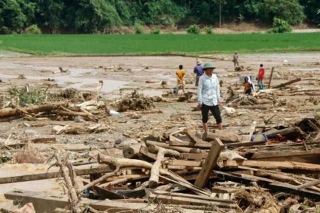 Al menos 19 muertos por las inundaciones en Vietnam