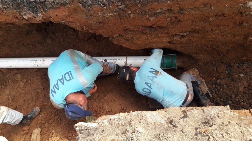 Suspenderán suministro de agua en Colón por desvío de tuberías el 1 de septiembre