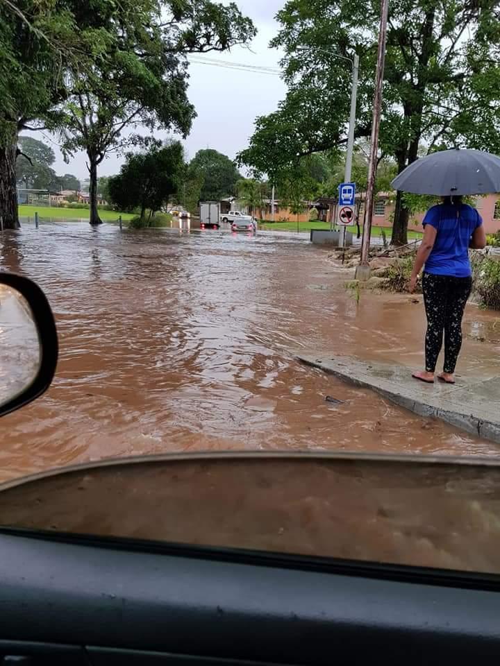 Peligro de inundación en Colón, emiten nuevo aviso de prevención
