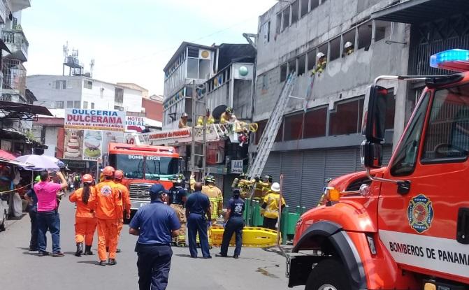 Se registra incendio en hotel en Calidonia