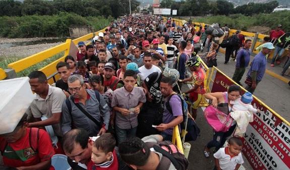 "Cancilleres analizarán migración ""inusual""  de venezolanos"