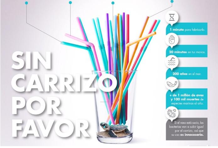 Restaurantes panameños dejarán de ofrecer carrizos de plástico en agosto