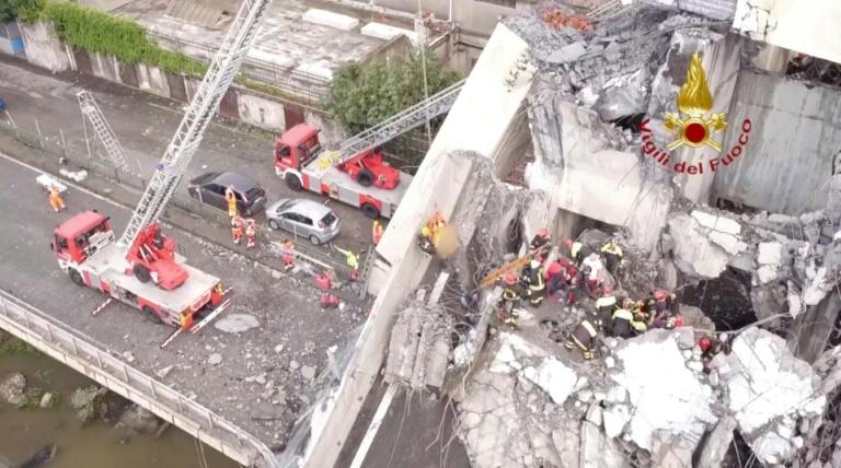 Italia en guerra contra la empresa que gestiona la autopista del puente derrumbado