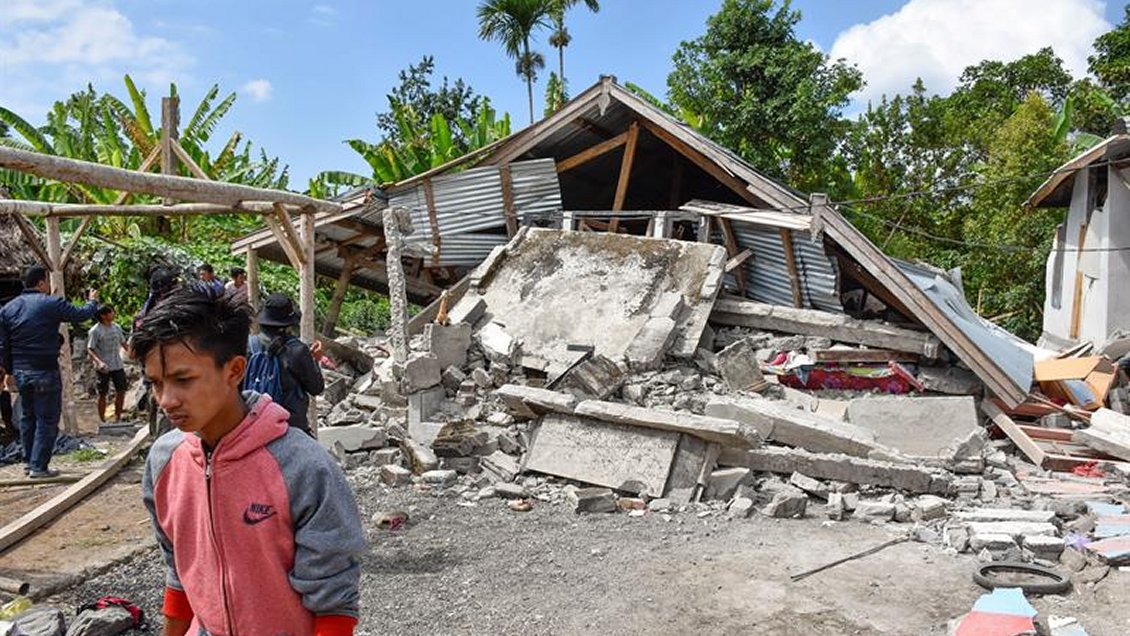 Panamá se solidariza con Indonesia por sismo magnitud 6,4