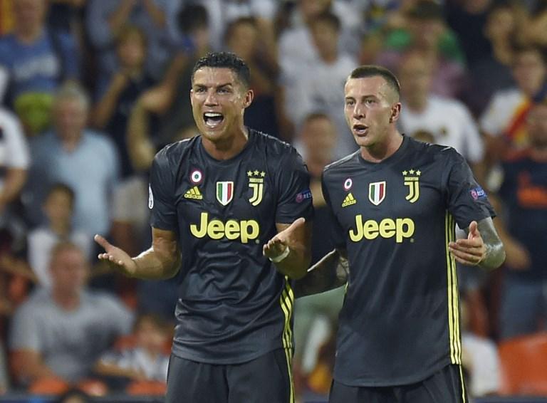 Ronaldo expulsado en su primer partido en Champions con la Juventus