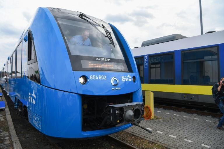 Inicia operaciones en Alemania el primer tren que funciona con hidrógeno en el mundo