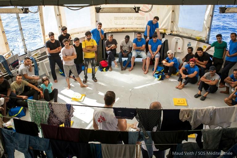 """El """"Aquarius"""" irá a Malta y sus migrantes se repartirán entre cuatro países"""
