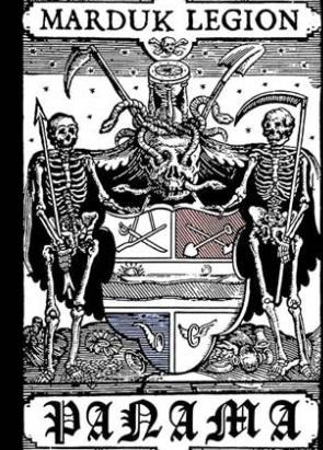 Banda Marduk promociona concierto en Panamá alterando escudo nacional