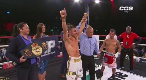 """""""El Nica"""" Concepción perdió, le ganó el  australiano Andrew Moloney"""