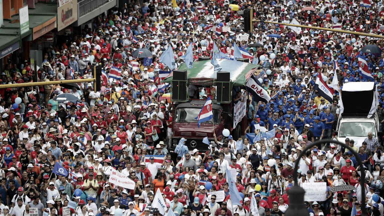 Protestas  en Costa Rica se agudizan, hay preocupación internacional