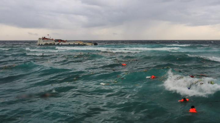 Más de 40 muertos por naufragio en el Lago Victoria