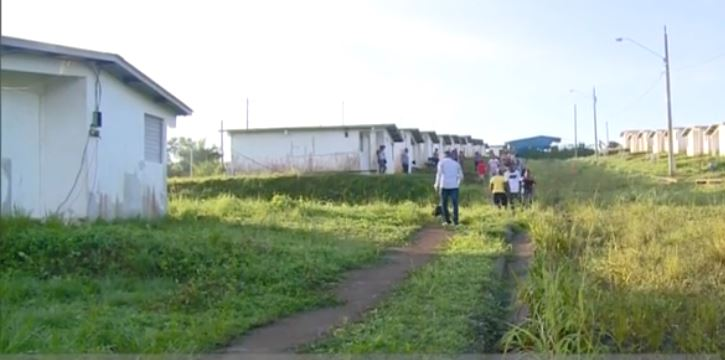 Damnificados invaden el proyecto habitacional El Mastranto 2 de La Chorrera