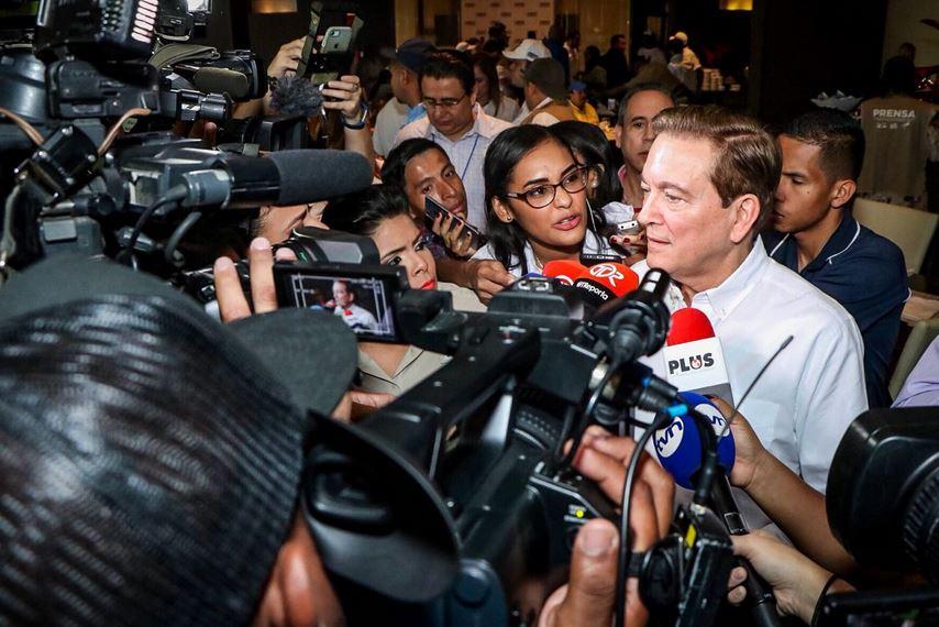 Cortizo dice sentirse muy tranquilo ante arranque de votaciones del PRD