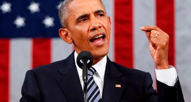 """Obama: """"Estados Unidos vive tiempos peligrosos"""""""