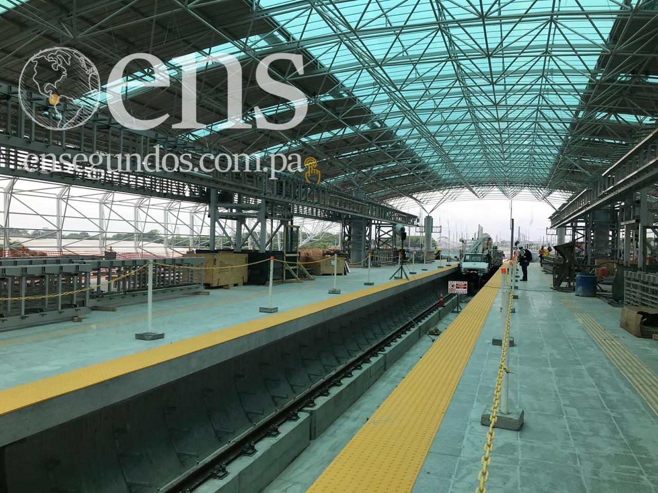 Instalación de vía férrea de Línea Dos del Metro reporta 98% de avance