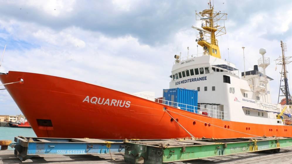 Canciller panameña reitera que el Aquarius no tenía permiso para rescates en Mediterráneo