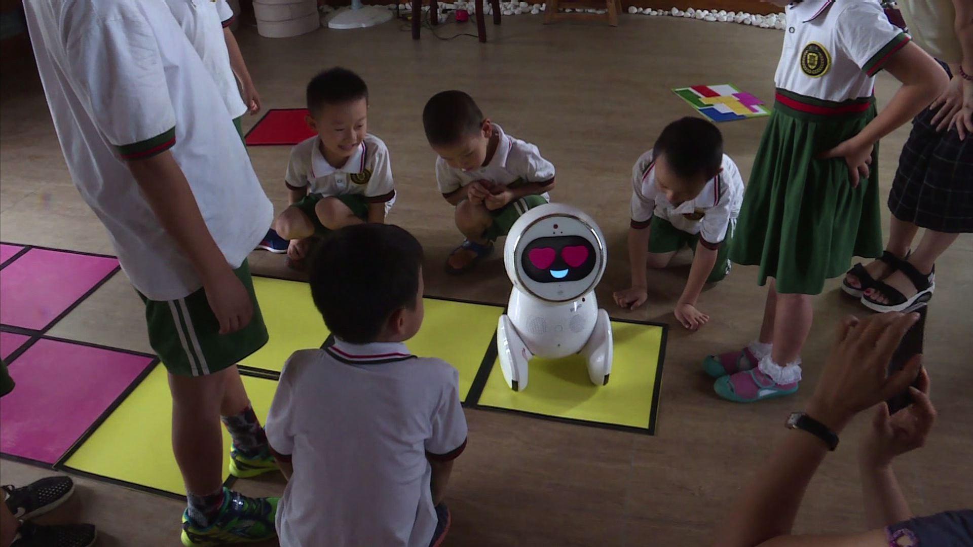 Los robots llegan a las escuelas infantiles chinas