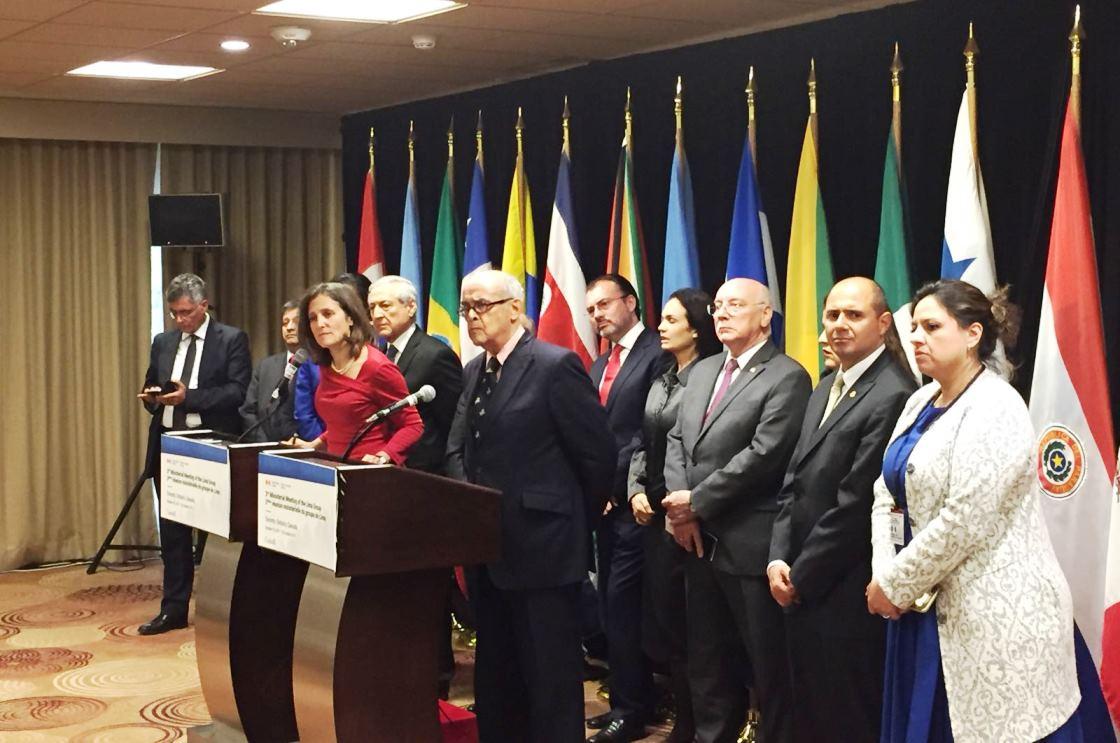 El Grupo de Lima evalúa medidas contra Venezuela