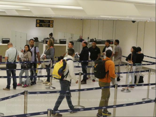 Migración suma 575 extranjeros deportados en los primeros meses de 2019