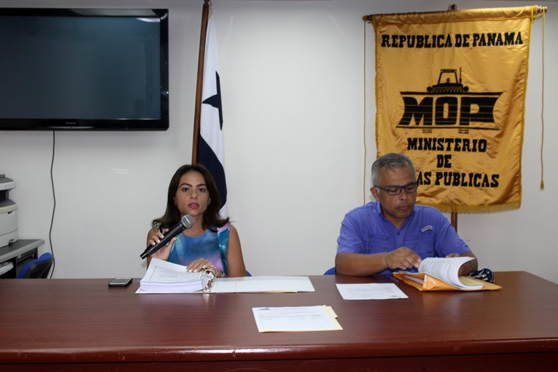 Realizan  acto de homologación para rehabilitación de calles en La Chorrera