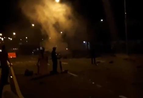 Indígenas suspenden protestas y  reabren vía en San Juan- Chiriquí