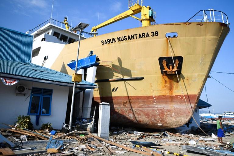 Más de 1.400 muertos por el sismo de Indonesia y pocas posibilidades de encontrar supervivientes