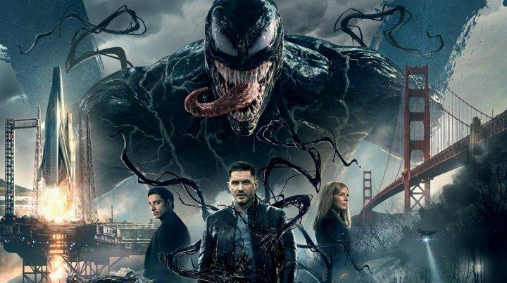 """""""Venom"""" encabeza taquilla en cines norteamericanos"""