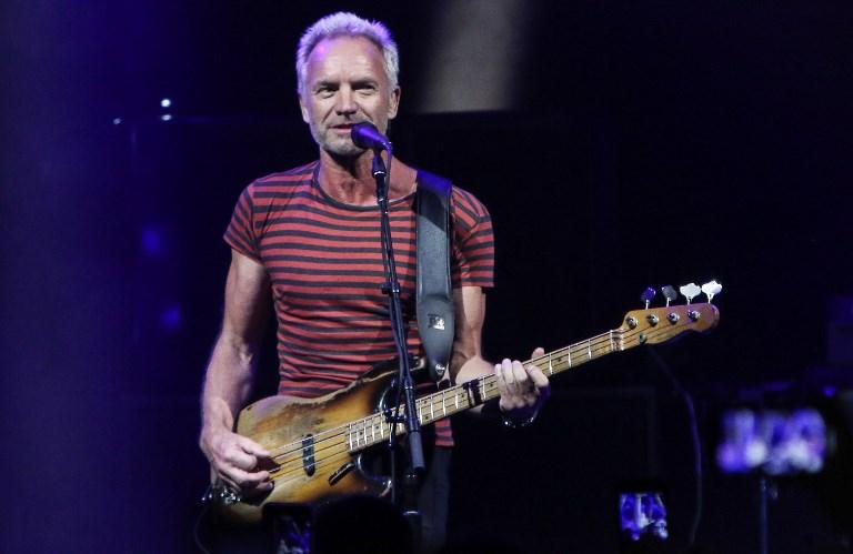 Sting anula otro concierto por razones médicas