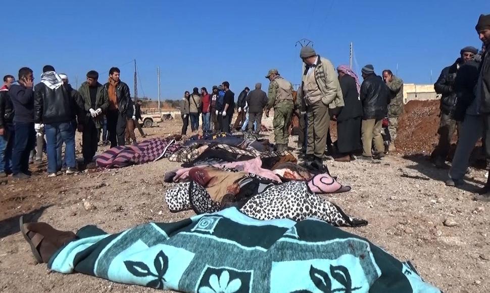 EI mata en Siria 41 combatientes de coalición apoyada por Estados Unidos
