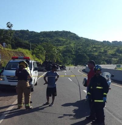 Decretan medida cautelar de reporte periódico a hombre que se volcó, y dejó 3 muertos en Veraguas