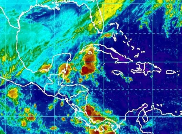 Honduras activa alerta por fenómeno atmosférico que seestaría formando entre Panamá y Colombia