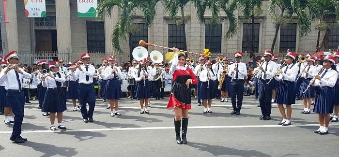 Realizan el XXII encuentro de bandas estudiantiles nacionales