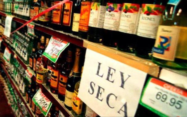 Ley Seca para el 2 de noviembre por Día de los Difuntos