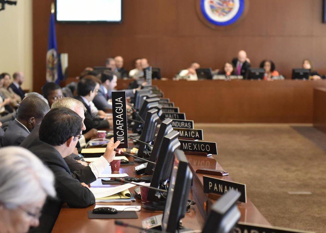 OEA convoca a reunión para analizar situación de Nicaragua