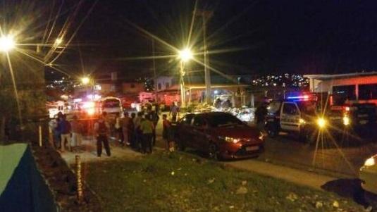 Matan a estudiante en bus de Mano de Piedra