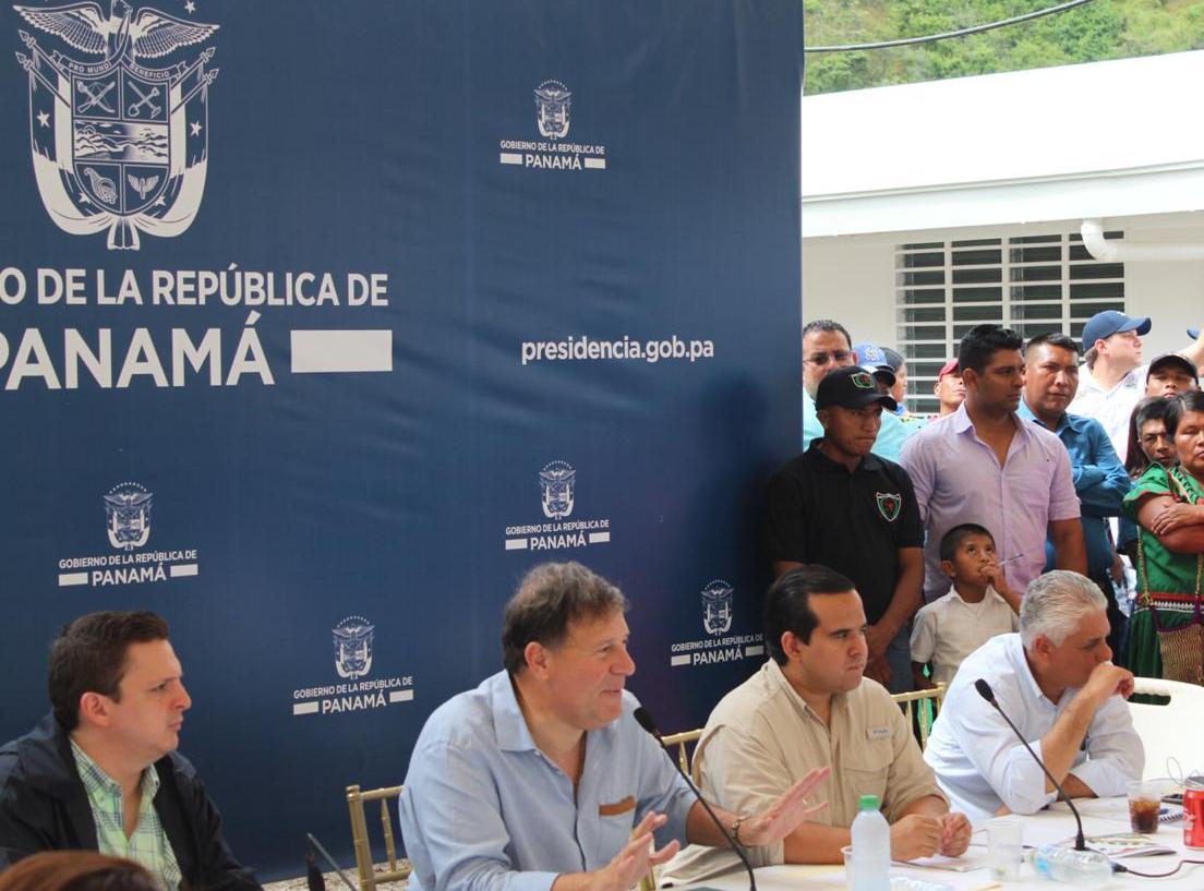 Varela destinará $10 millones para inversión en el Agro de la comarca Ngäbe Buglé