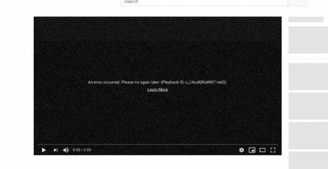 YouTube se cae a nivel mundial