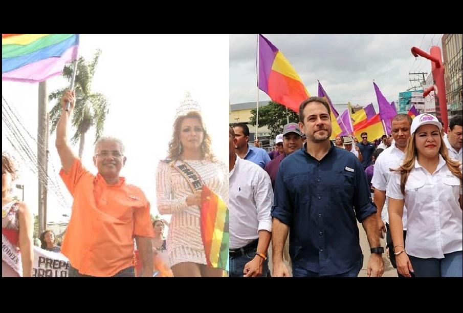 Blandón y Etchelecu chocan en tema de derechos de gays