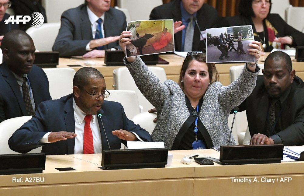 Diplomáticos cubanos boicotean sesión de la ONU