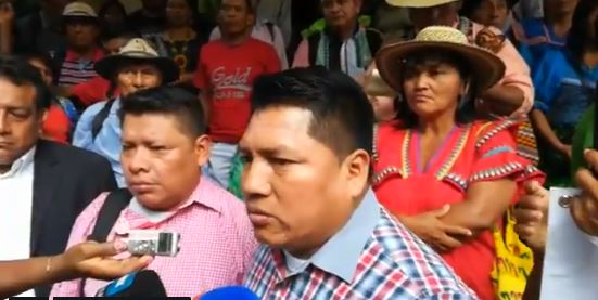 Indígenas exigen a MiAmbiente no obstaculizar titulación de tierras en áreas comarcales