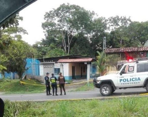 Se reporta doble homicidio en la frontera con Costa Rica
