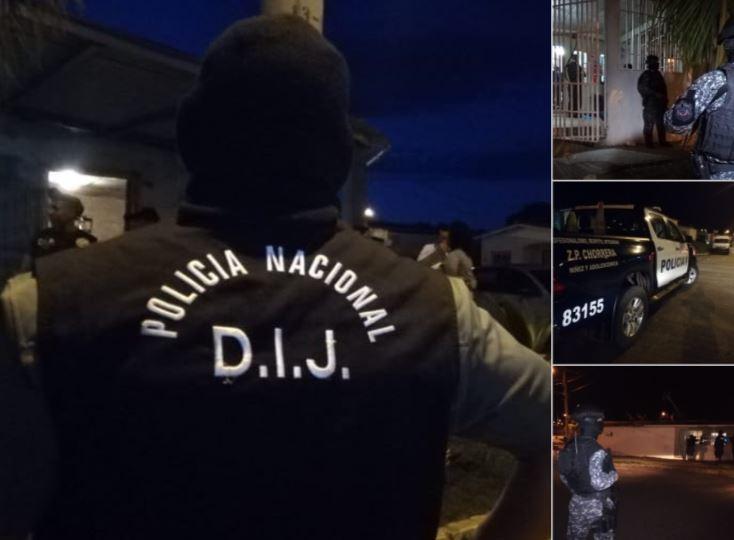 PN captura a 13 presuntos integrantes de grupo delincuencial en La Chorrera