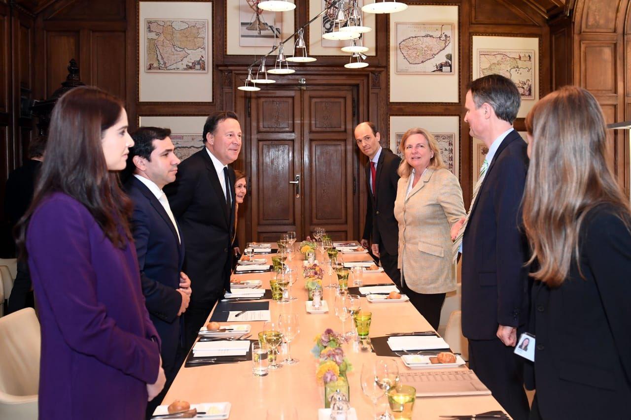 Presidente Varela culmina gira oficial en Austria e Italia