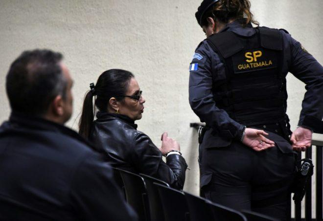 Ex vicepresidenta guatemalteca, condenada a 15 años de cárcel por corrupción