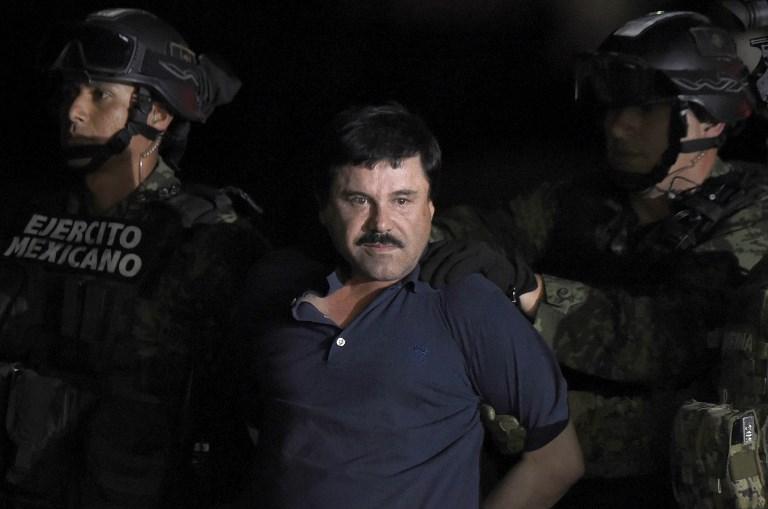 """""""El Chapo"""", de narco más buscado a trofeo de EEUU tras las rejas"""