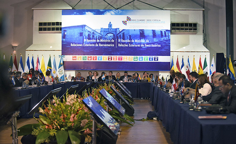 Crisis migratoria, telón de fondo en Cumbre Iberoamericana