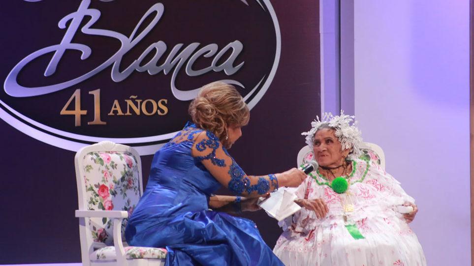 """Mayín Correa anuncia que """"Esa Cabellera Blanca"""" no se transmitirá este año"""