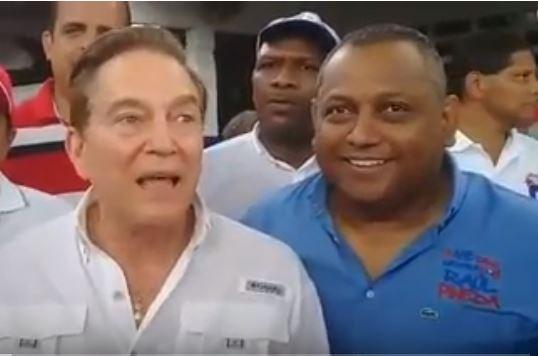 Raúl Pineda pelea con equipo de Nito Cortizo
