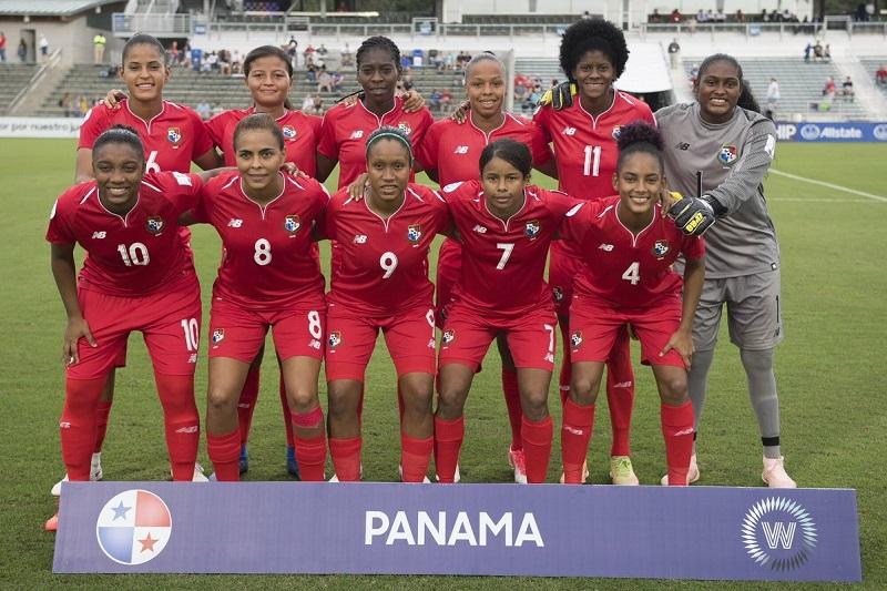 Selección femenina de Panamá enfrentará esta tarde a Nicaragua